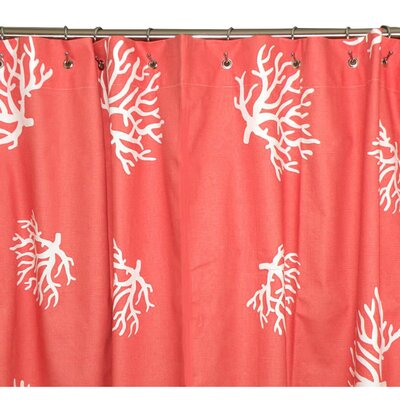 Elisabeth Michael Coral Reef Shower Curtain