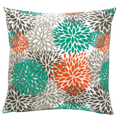 Elisabeth Michael Blooms Indoor / Outdoor Polyester Pillow