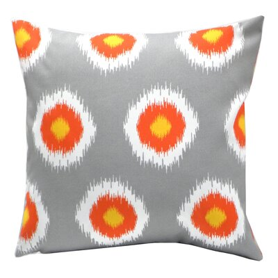 Elisabeth Michael Ikat Dot Indoor / Outdoor Polyeste Pillow