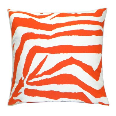 Elisabeth Michael Zebra Indoor / Outdoor Polyester Pillow