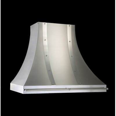 "Vent-A-Hood 30"" Designer Wall Hood with Pot Rail"
