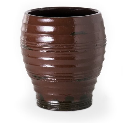 New Rustics Home Distressed Red Pot