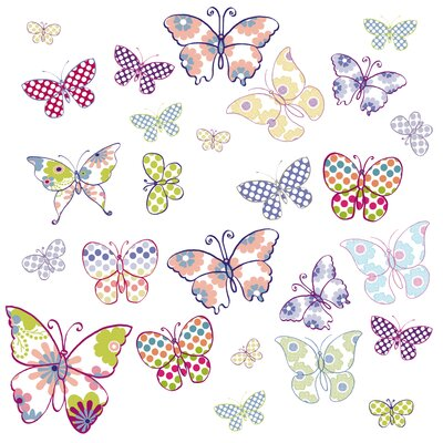 Butterflies Window Sticker