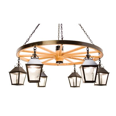 2nd Ave Design Silverton 6 Light Chandelier