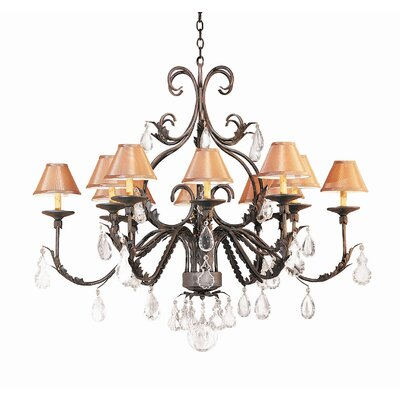 2nd Ave Design French Elegance 12 Light Chandelier