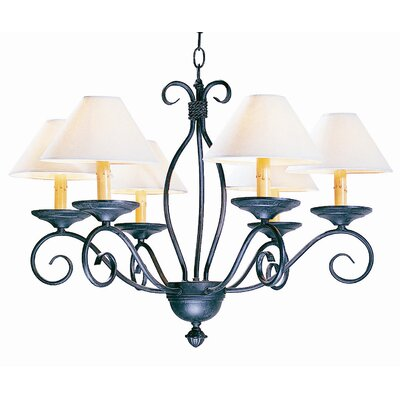 Sienna 6 Light Chandelier
