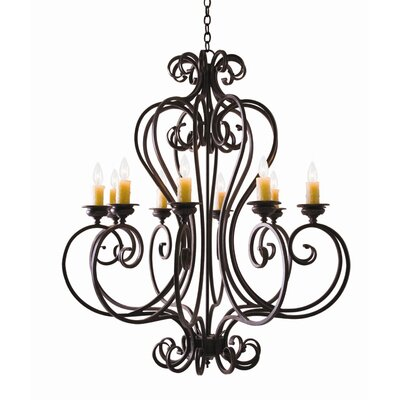 2nd Ave Design Fernando 10 Light Chandelier