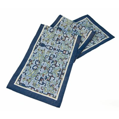 Arts and Crafts Asian Ornament Table Runner