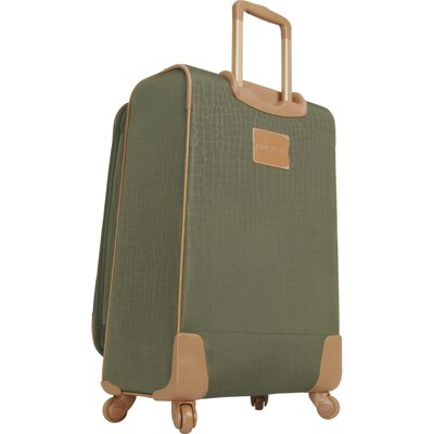 "Anne Klein Jungle 24"" Expandable Spinner Suitcase"
