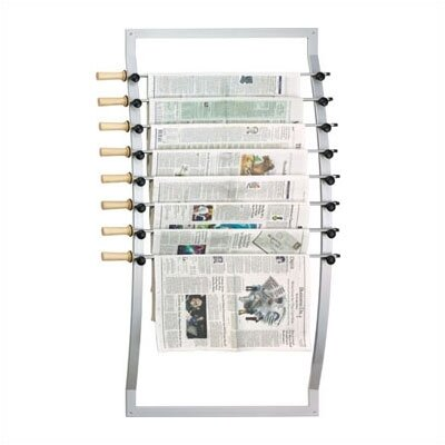 Peter Pepper Seven Rod Aluminum Newspaper Hanger