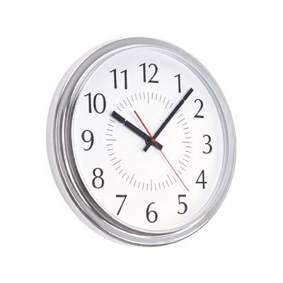 Peter Pepper 14&quot; Diameter Modern Wall Clock with Acrylic Cover