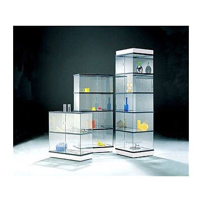 Peter Pepper CrystalMint® Large Rectangle Modular Display Case and Lighting Set Kit