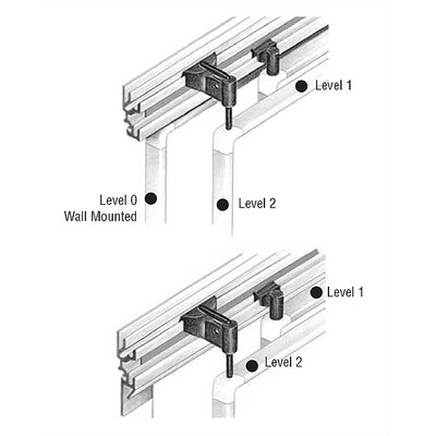 Peter Pepper Tactics Plus® Level 0 Replacement Wall Mounting Clips