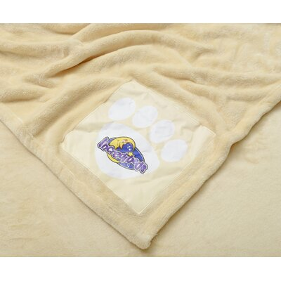 Incredibeds Cozy Cuddly Comfort Blankie with Fuzzy Brown Bear Signature
