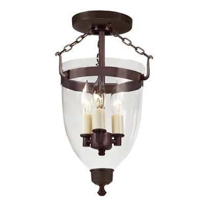 JVI Designs Danbury 3 Light Hanging Lantern