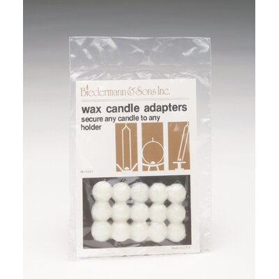 Biedermann and Sons Wax Dots Candle Adapter (Set of 30)