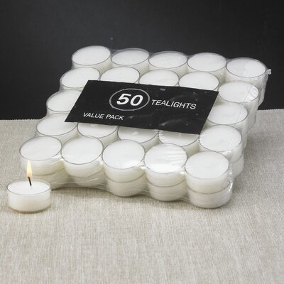 Biedermann and Sons Acrylic Tealights (Set of 50)