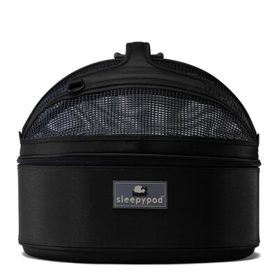 Sleepypod Mobile Pet Bed/Carrier in Jet Black