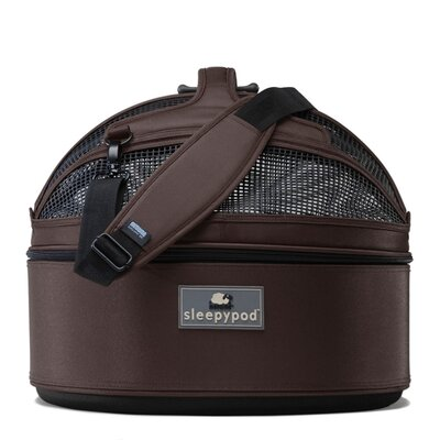 Sleepypod Mobile Pet Bed/Carrier in Dark Chocolate