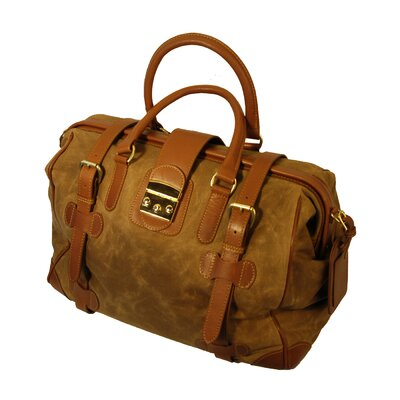 Waxed Canvas Safari Weekend Duffel