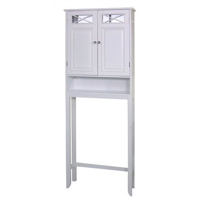 Elegant Home Fashions Dawson Space Saver Bathroom Cabinet