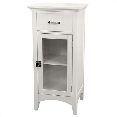 Elegant Home Fashions Madison Avenue Floor Cabinet with 1 Door and 1 Drawer