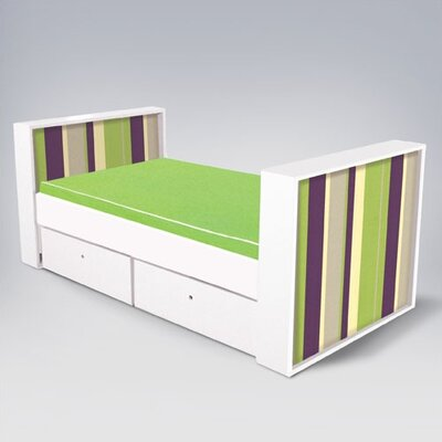 ducduc Parker Full  Bed with  Drawers