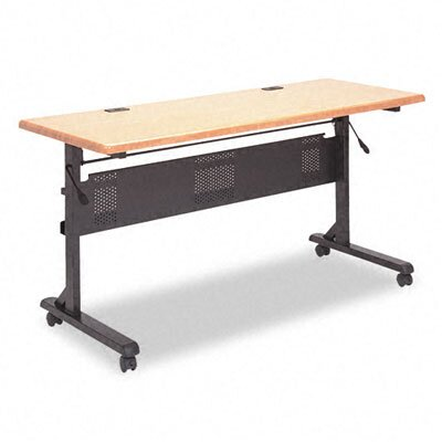 Balt Flipper Training Table Base, 53-1/4w x 23-1/2d x 28-1/4h, Black