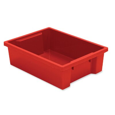 "Balt Kids Tub, Small, 10-1/4""x15-1/2""x4-1/4"", Red"