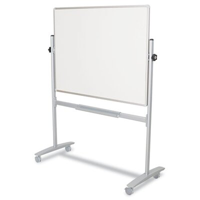 Balt Mobile Reversible 60 x 48 x 24 Whiteboard in White/Silver