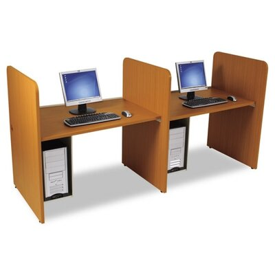 Balt Teak H Study Carrel Add On