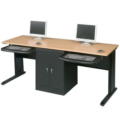Balt LX-72 Computer Workstation with Locking CPU Holder