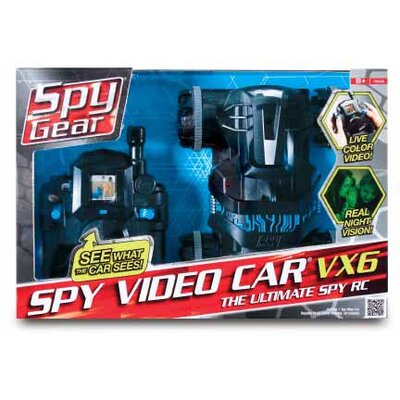 Wild Planet Spy Gear Video Car VX-6