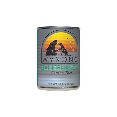 Wysong Maintenance™ Canned Diet Wet Dog Food (13-oz, Case of 12)