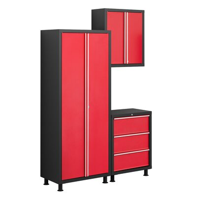 NewAge Products Bold Series 3pc Tool Cabinet Set