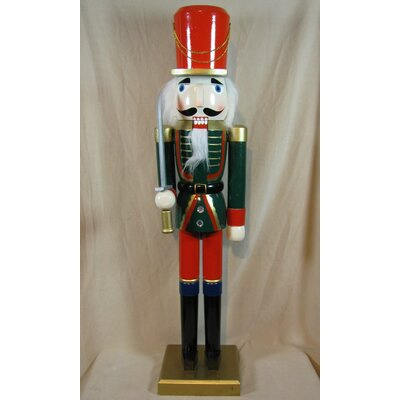 Jacket Soldier Painted Wood Nutcracker