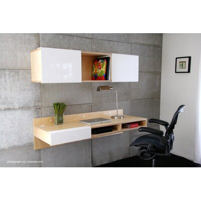 Mash Studios LAX Wall Mounted Entertainment Shelf
