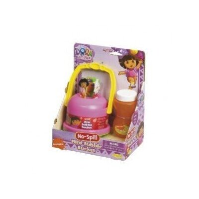 Little Kids Nickelodeon Dora the Explorer No-Spill Mini Bubble Bucket
