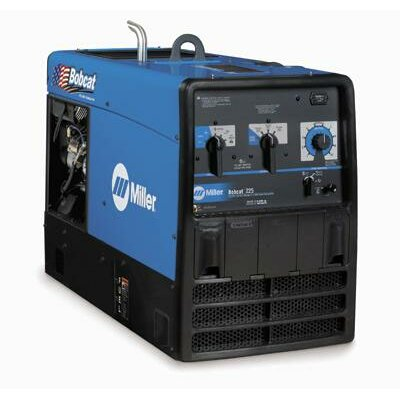 Miller Electric Mfg Co 225 Welder/Generator With 23HP Kohler Engine And GFCI Receptacles, 10000 Watts Peak, 225 Amp