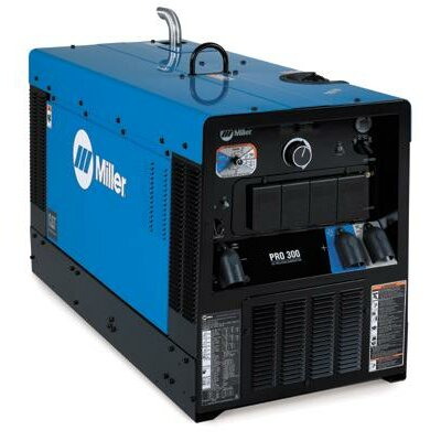 Miller Electric Mfg Co 300 CC/CV Welder/Generator With 22HP Caterpillar Engine, Starting Aid, 12000 Watts Peak, 410 Amp