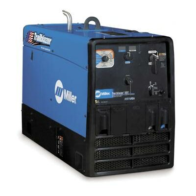 Miller Electric Mfg Co 302 Welder/Generator With 20HP Kohler LP Engine And GFCI Receptacles, 10500 Watts Peak, 300 Amp