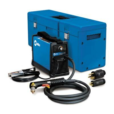 Miller Electric Mfg Co 375 X-TREME Plasma Cutters 230V Welder with Auto-Line, MVP Plugs and X-CASE Carry Case
