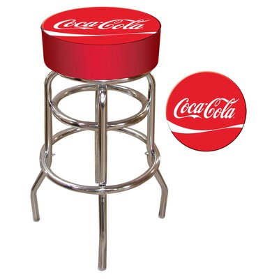 Trademark Global Coca Cola Pub Stool