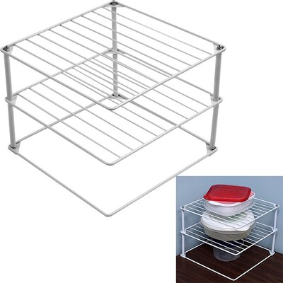 Trademark Global Corner Storage Rack (Set of 2)