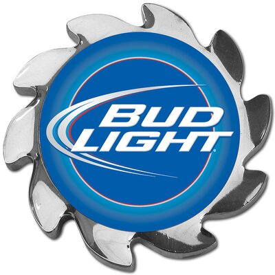Trademark Global Bud Light Spinner Card Cover in Silver
