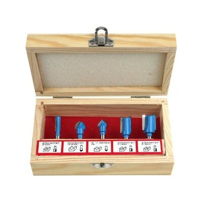 Carbide Router Bit Set