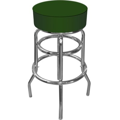 Trademark Global High Grade Padded Bar Stool in Green