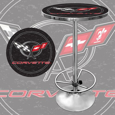Corvette C5 Pub Table in Black