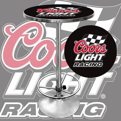 Trademark Global Coors Light Racing Pub Table
