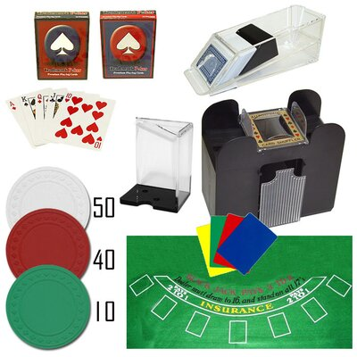 Trademark Global Professional Blackjack Set